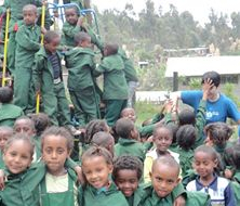Dawn - Ethiopia School Playground