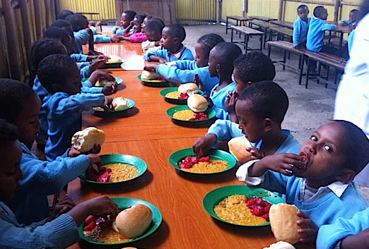 Ethiopian School Lunch program