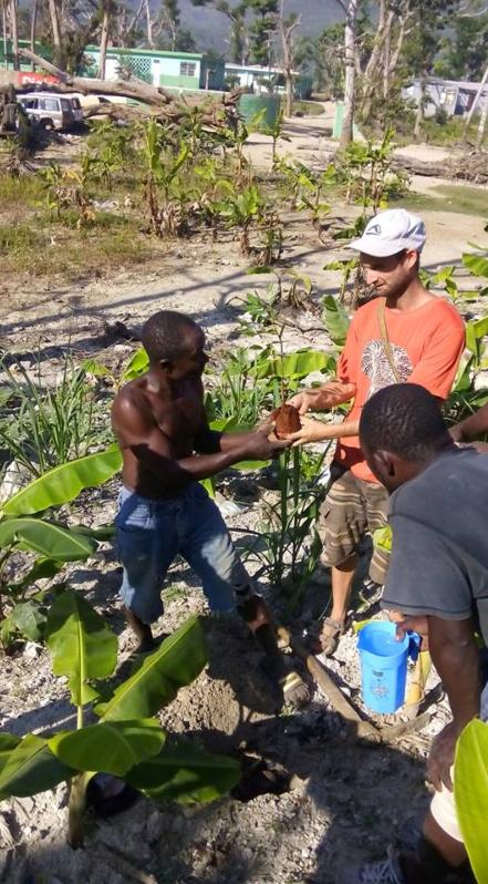Sadhana Forest  in Haiti 2016
