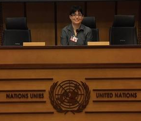Dawn Moncrief at United Nations 2016