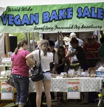 Vegan Bake Sale 2014