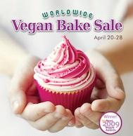 Worldwide Vegan Bake Sale Ad