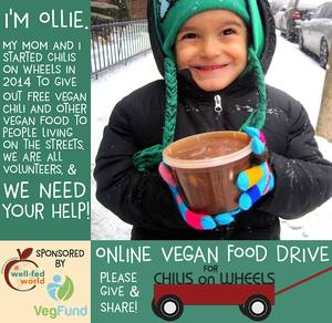 Online Vegan Food Drive