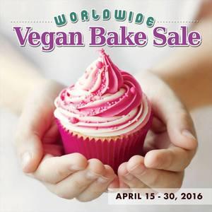 Worldwide Vegan Bake Sale Logo